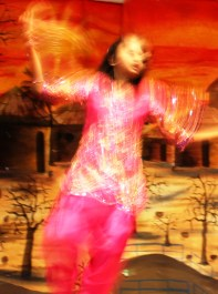 Bollywood dancer in motion 2