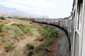 On the train from Mwanza to Dar Es Salaam, Tanzania.