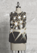 Stars of light top design for Vida
