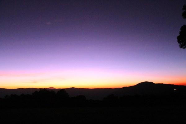 Sunrise Horizon 2 on the edge of the Ngorongoro Crater in Tanzania