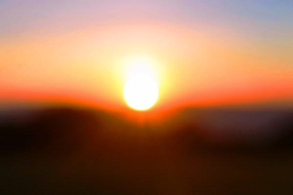 Sunrise Horizon 5 on the edge of the Ngorongoro Crater in Tanzania