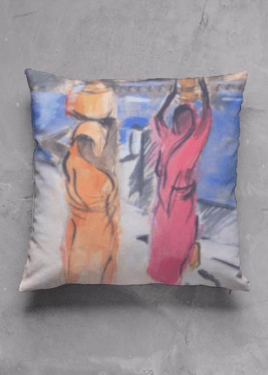 Pushkah Lake cushion design for Vida