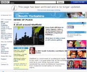 An Architectural Stroll around Sheffield for the BBC South Yorkshire Website
