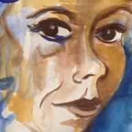 Self Portrait in Watercolour