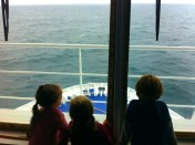 On board the North Sea Ferry heading for Sweden
