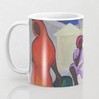 Dadas at the Market - mug