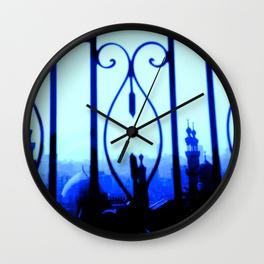 Cairo at Dusk - wall clock