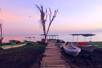 Sunrise over Lake Naivasha, Kenya