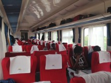 Inside the Madaraka Express Mombasa-Nairobi Standard Gauge Railway