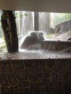 A particularly bad rainstorm at Isamilo International School in Mwanza, Tanzania