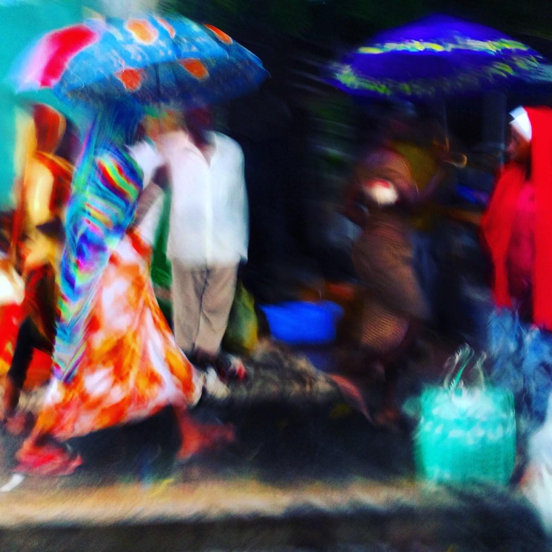 Dar es Salaam in the rain