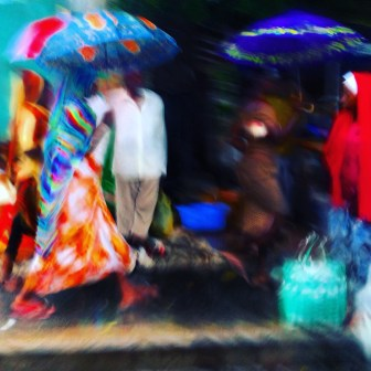 Dar es Salaam in the rain