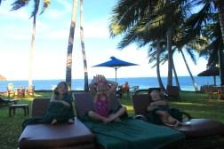 Relaxing at the Serena Beach Resort and Spa in Mombasa, Kenya