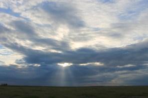 Amboseli National Park at dusk