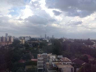 View over Nairobi from WordPress 15th Anniversary Conference Room