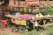 Fruit stall in Nairobi