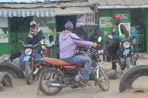 Piki piki drivers in Nariobi