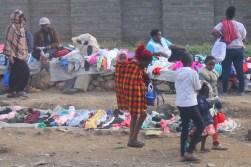 Street market in Nairobi