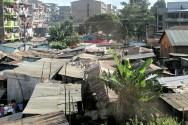 The slums in Nairobi