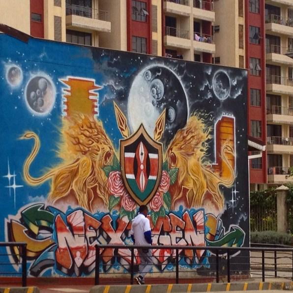 Street art in Nairobi
