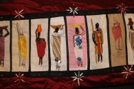 Barocco - The Red Dress Project - designed and embroidered by members of the Kenya Embroiderers' Guild Part 2