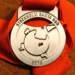 My Stockholm Santa Run 2018 medal
