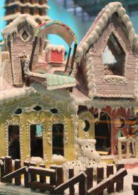 Gingerbread Villi Villekulla House at the ArkDes 2018 Exhibition