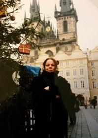 Ali in the Staré Město in Prague, Czech Republic