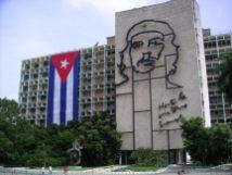 La Plaza de la Revolución in Havana, Cuba