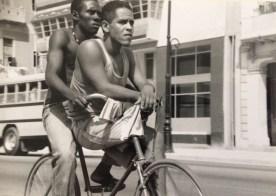 Travelling by bike in Havana, Cuba