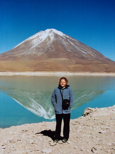 Ali in the Atacama desert