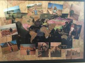 Some of the many places mum visiting around the world