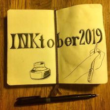 First page Inktober 2019
