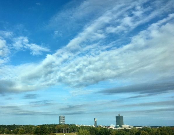 The three towers in Kista
