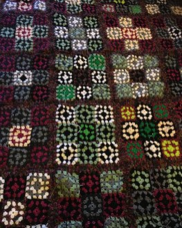 The granny square crochet blanket that just grew and grew due to Covid 19 lockdown