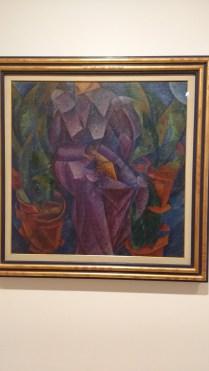 """Umberto Boccioni, """"Costrzione spiralica"""" 1913"""