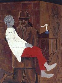 Max Ernst - La Pieta, or Revolution by Night, 1923