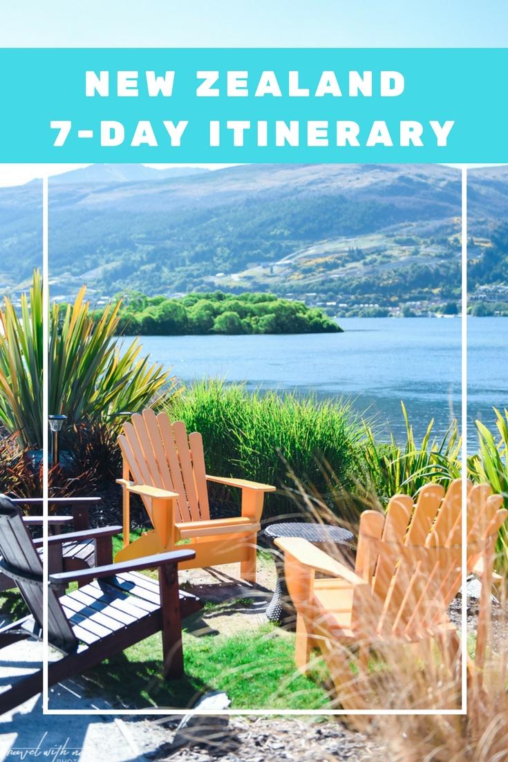 New Zealand 7 day itinerary