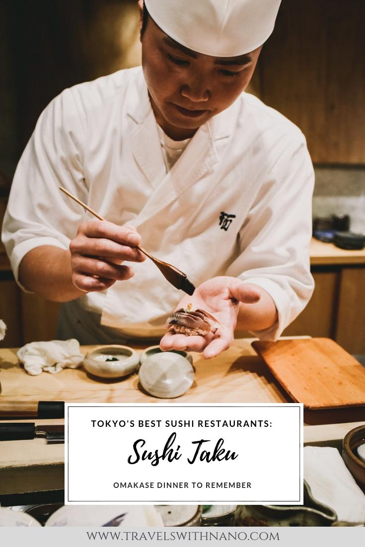 Sushi Taku Tokyo