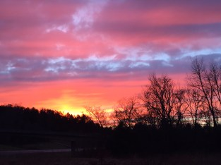 Sunset at Fall Hollow