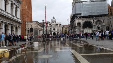 A wet Piazza San Marco