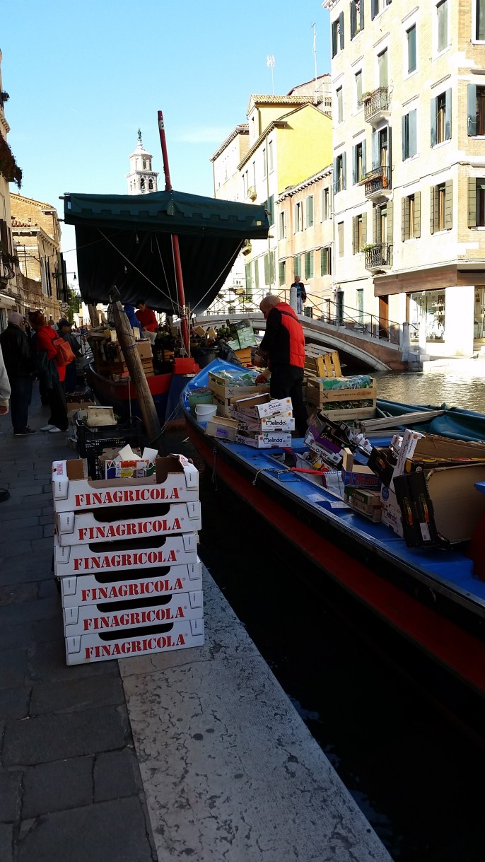 Grocery Boat in Campo San Barnaba