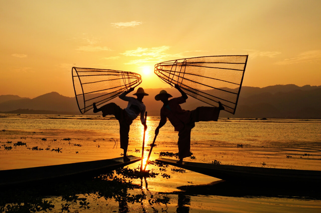 Lake Inle 1 of 3 best places to visit in Myanmar