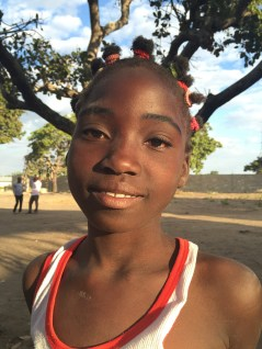 Pretty, smiling girl in Mozambique