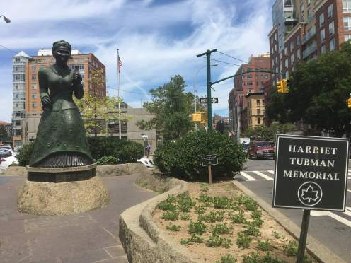 Harriet Tubman, monument, abolitionist, women's rights, activist, Harlem, New York City