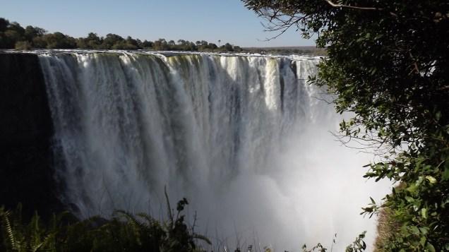 Victoria Falls on the Zambezi River