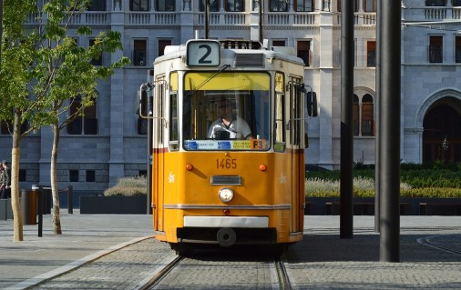 Save money. Take the tram.