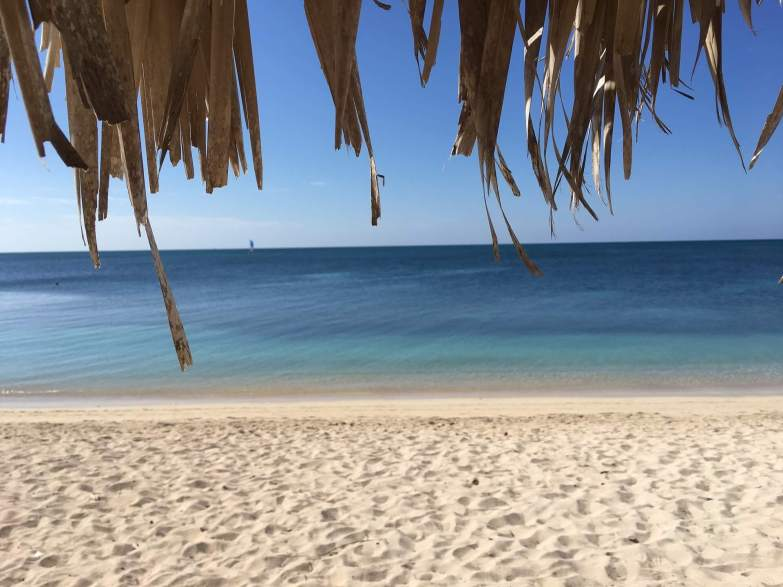 Playa Ancon beach in Trinidad, Cuba