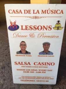 Salsa dancing lessons in Trinidad, Cuba