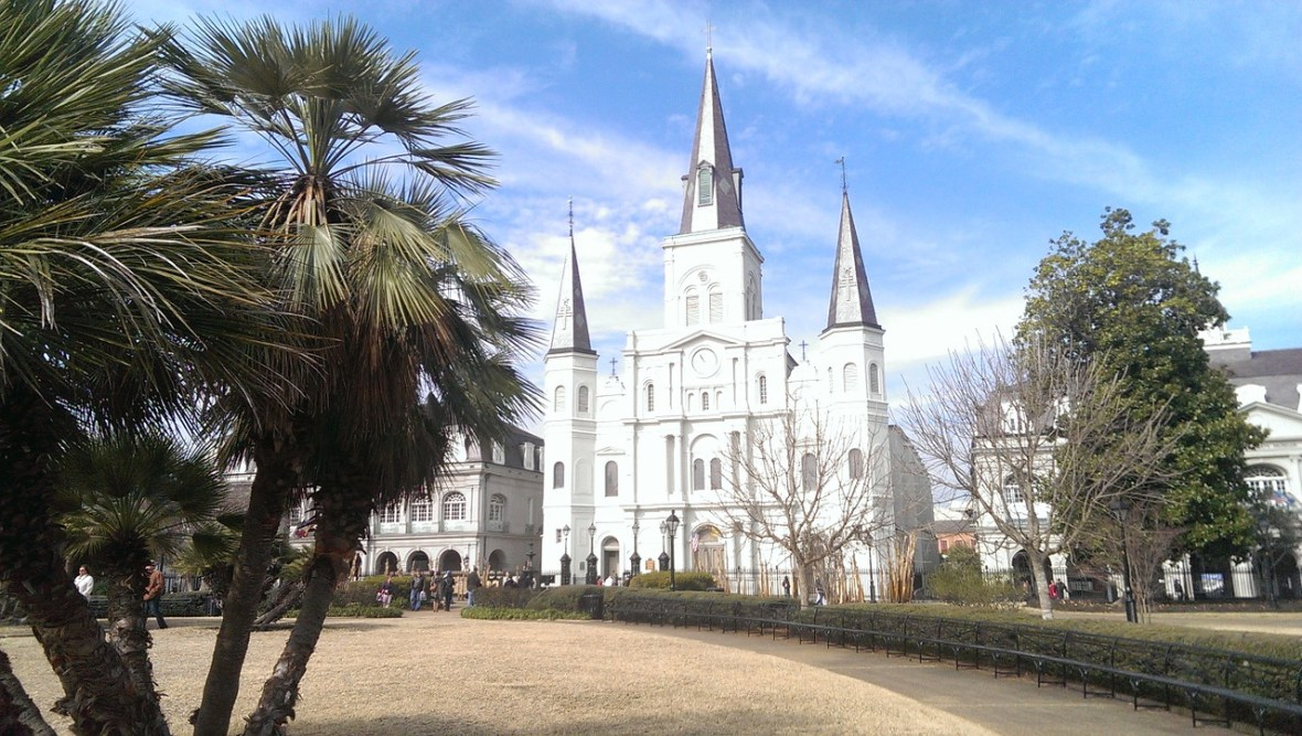 Saint Louis in New Orleans